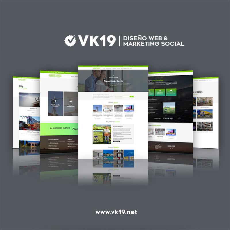 Web Sistemas Elener por VK19