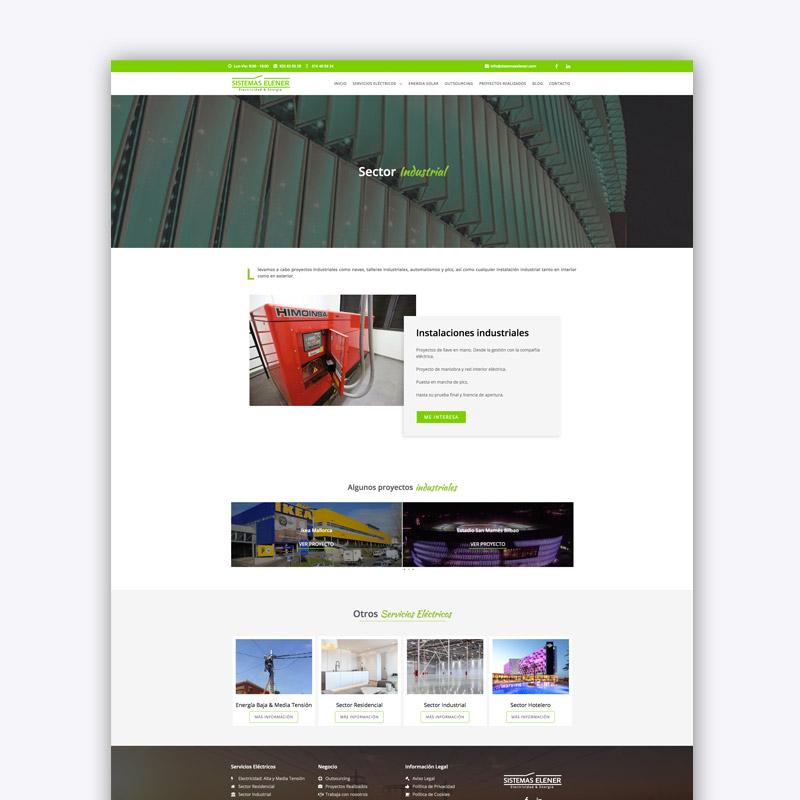 Diseño Web para Sistemas Elener